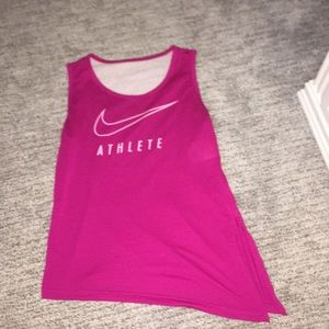 Girls Nike Dri-Fit Tank top with mesh back!